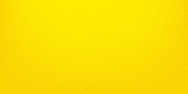 노란 하프톤 발견 배경 - 노랑 stock illustrations