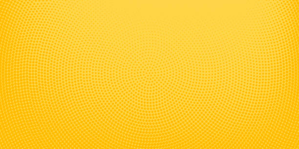 bildbanksillustrationer, clip art samt tecknat material och ikoner med gula halvton fläckig bakgrund - gul bakgrund