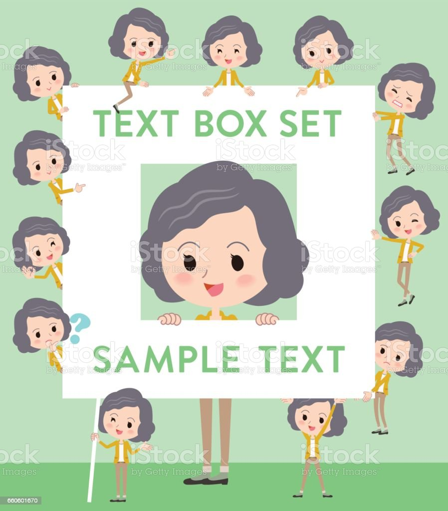 Yellow jacket Middle woman text box royalty-free yellow jacket middle woman text box stock vector art & more images of adult