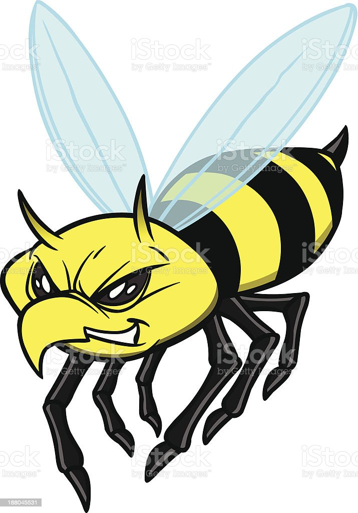 Yellow Jacket royalty-free stock vector art