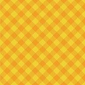 Yellow and orange lumberjack seamless diagonal pattern background.