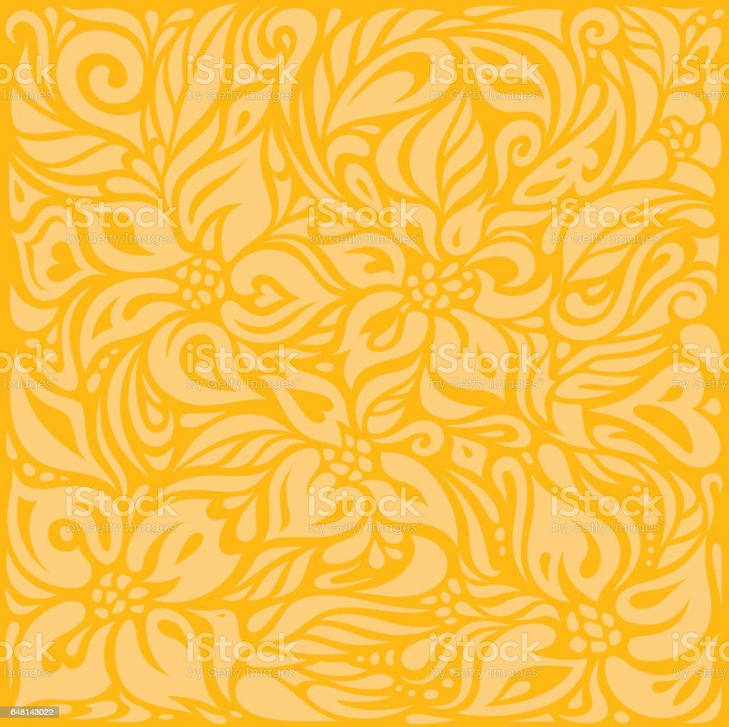yellow orange colorful retro wallpaper background design vector id648143022