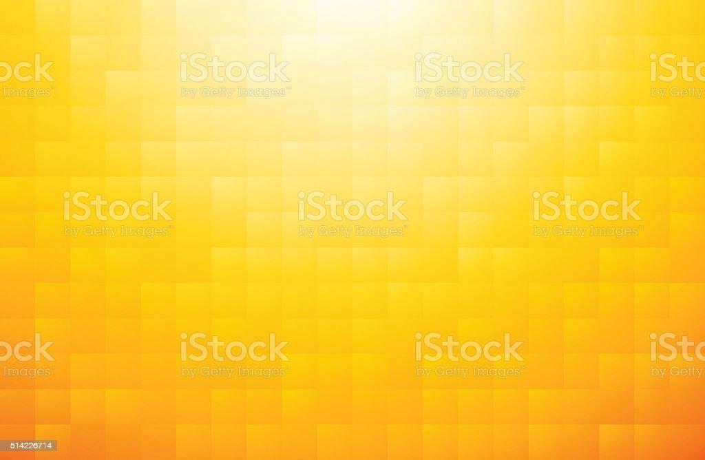 Mosaico sfondo giallo arancio illustrazione  istock