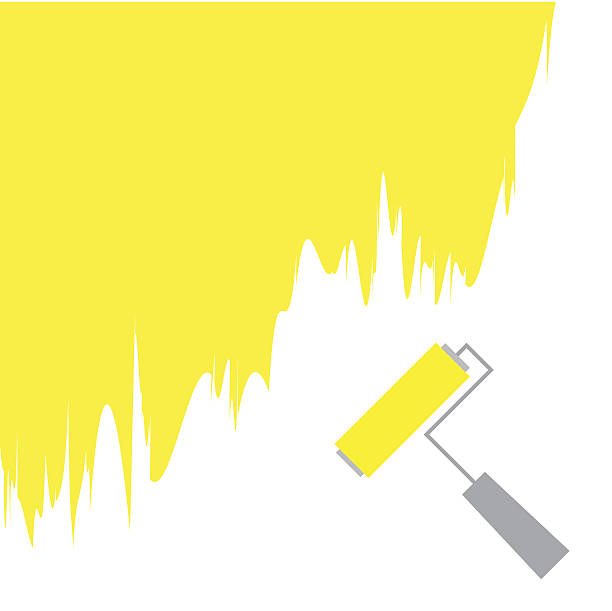 Royalty Free Paint Running Down Wall Clip Art, Vector Images ...