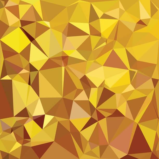 Yellow Polygonal Mosaic Background, Creative Design Templates vector art illustration