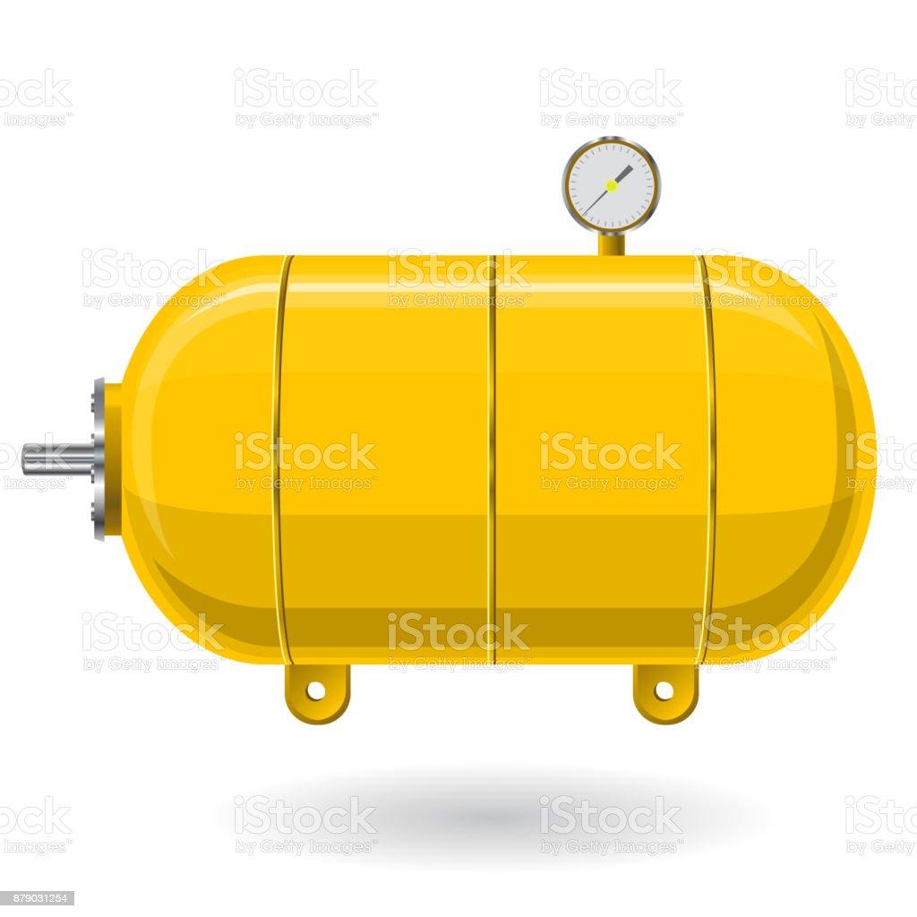 gelbe druckbehälter für luft wasser gas druckbehälter für die
