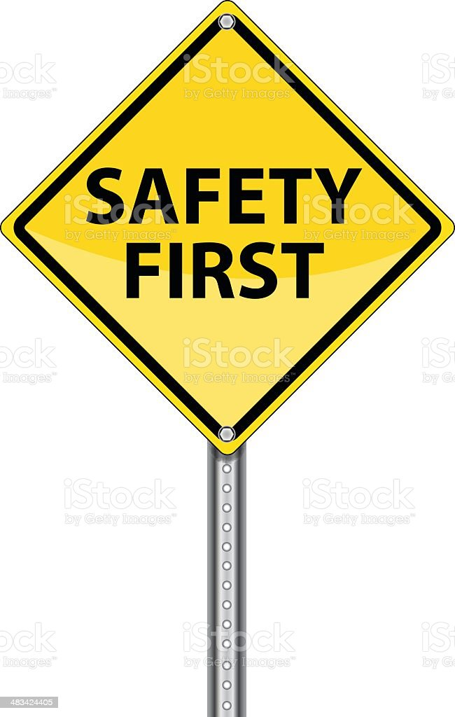 royalty free safety first clip art vector images illustrations rh istockphoto com safety clip art pictures safety clip art free