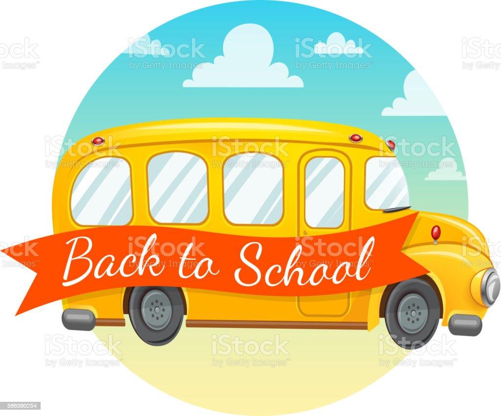 yellow school bus and text arte vetorial de acervo e mais imagens