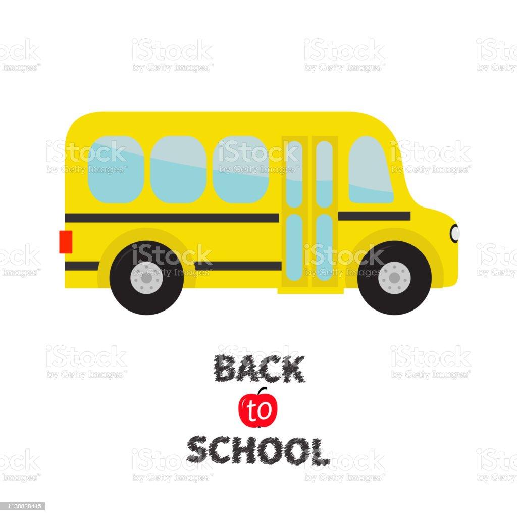 Les Enfants Des Autobus Scolaires Jaunes Clipart De Dessin
