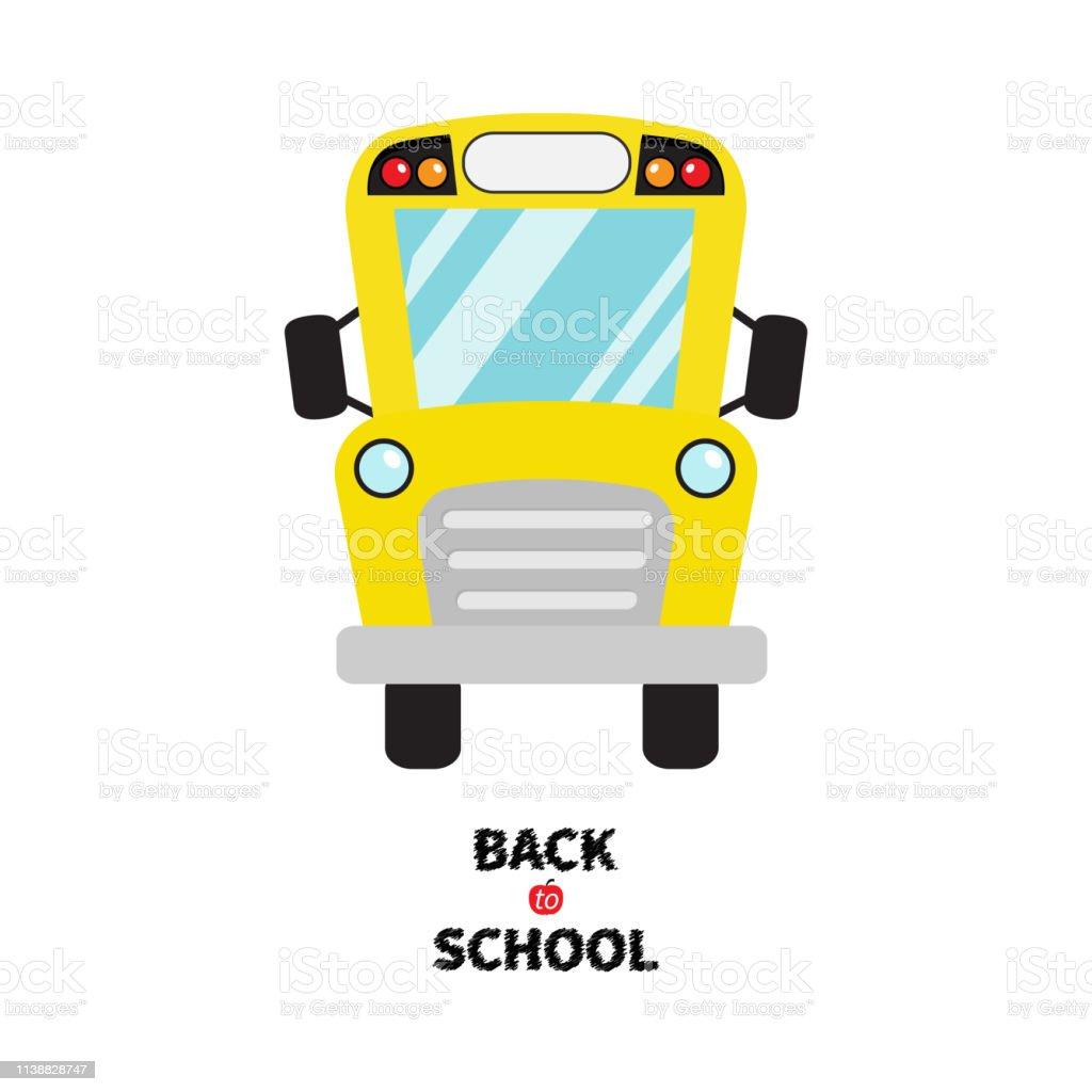 Yellow School Bus Kids Cartoon Clipart Transportation Baby