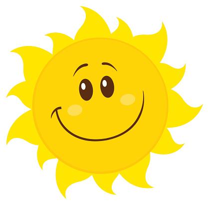 Yellow Simple Sun