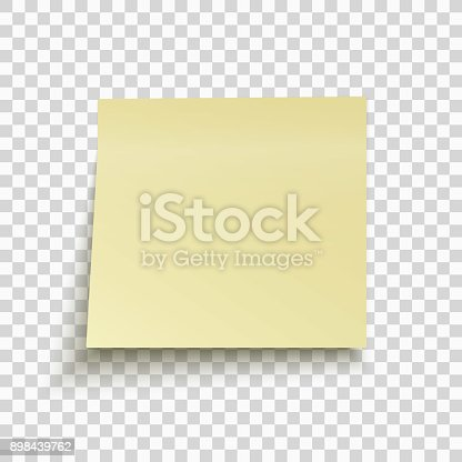 yellow sticky note isolated on transparent background office note for work template for your. Black Bedroom Furniture Sets. Home Design Ideas