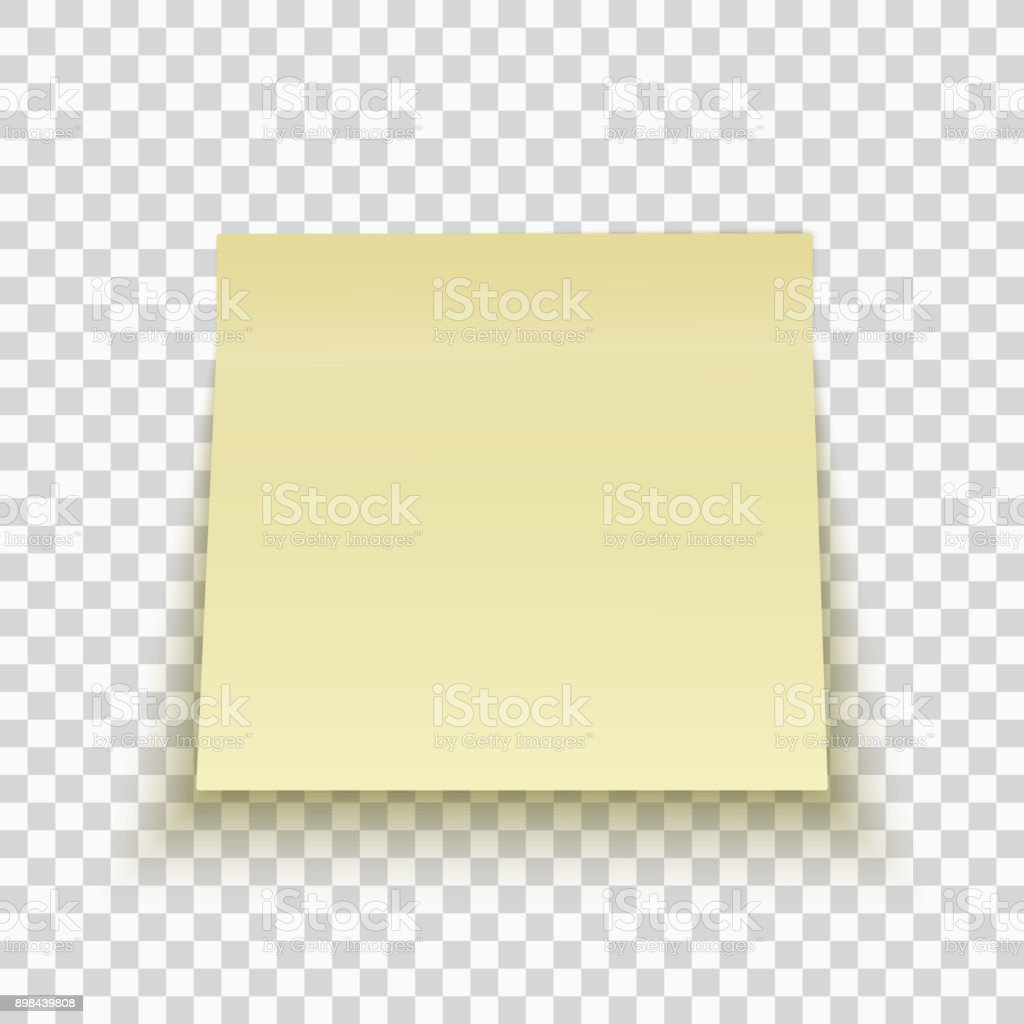 yellow sticky note isolated on transparent background office note template for your project. Black Bedroom Furniture Sets. Home Design Ideas