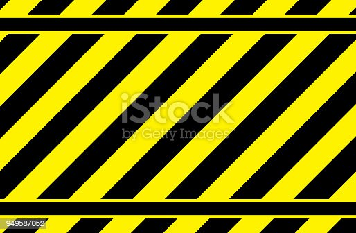 yellow striped background, warning strip, yellow striped pattern, vector image
