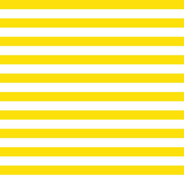 ilustrações de stock, clip art, desenhos animados e ícones de yellow stripes vector background with horizontal lines - grosso