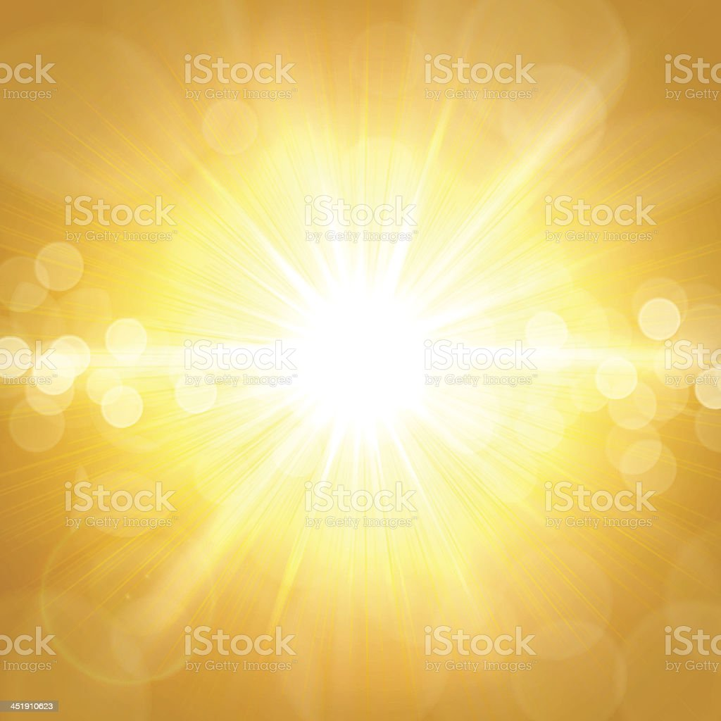 Yellow Summer Background royalty-free stock vector art