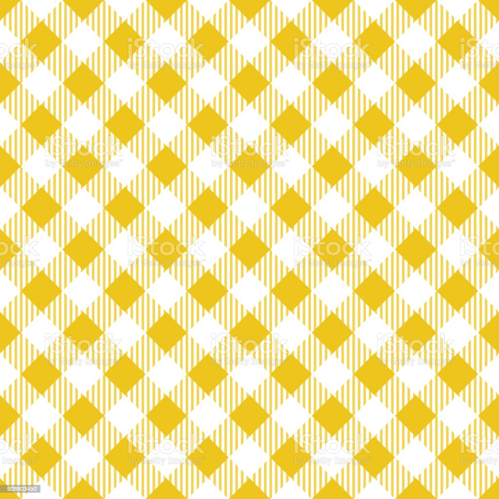 Yellow Tablecloth Argyle Pattern Royalty Free Yellow Tablecloth Argyle  Pattern Stock Vector Art U0026amp;