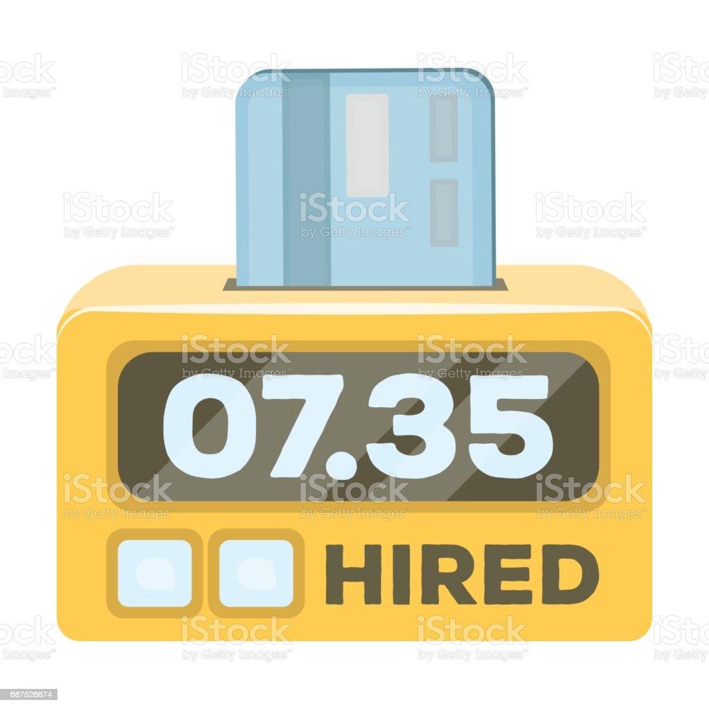 Carte Bancaire Jaune.Comptoir De Taxi Jaune Avec Carte Bancaire Un Dispositif