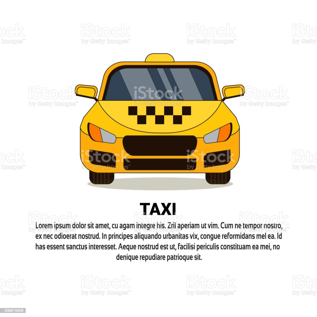 ic ne du cab taxi jaune service voiture vue de face cliparts vectoriels et plus d 39 images de. Black Bedroom Furniture Sets. Home Design Ideas