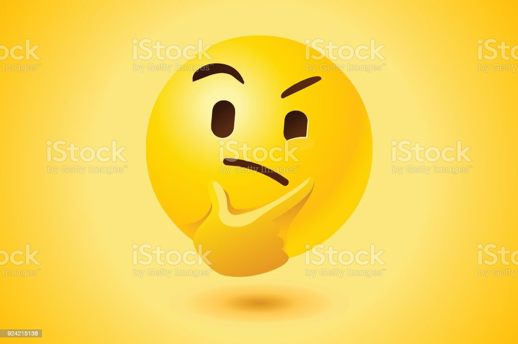 royalty free confused face clip art vector images illustrations rh istockphoto com Smiley-Face Emotions Clip Art Animated Smiley Face Clip Art