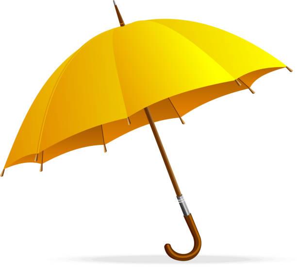 Royalty Free Yellow Umbrella Clip Art, Vector Images ...