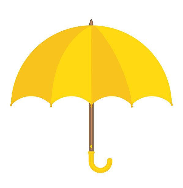 Royalty Free Yellow Umbrella Clip Art, Vector Images ...