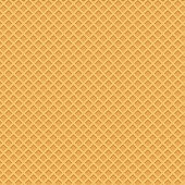 istock Yellow wafer background. Vector 1144409232