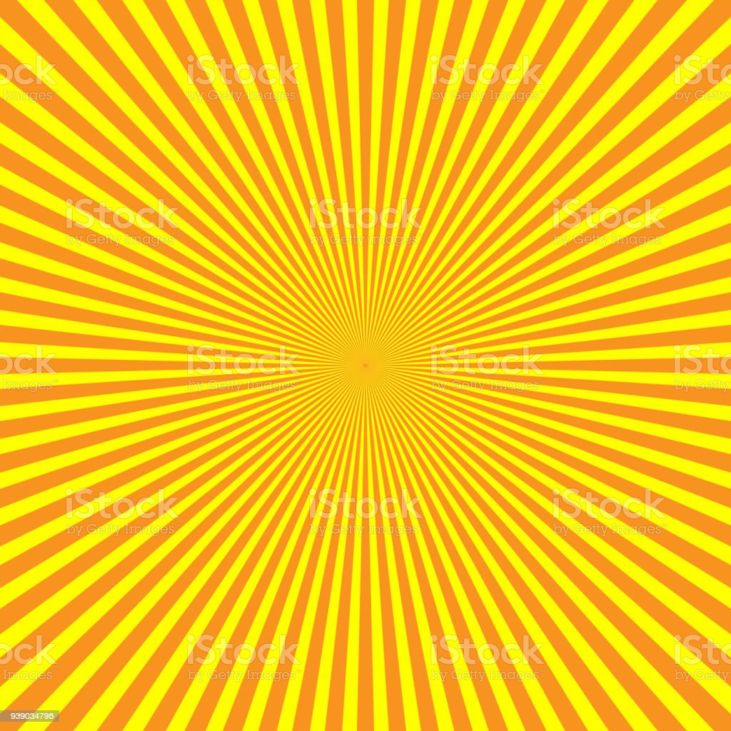 Yelloworange Rays Of Light In Radial Arrangement Sunshine Beams ... for Background Pattern Light Orange  110zmd