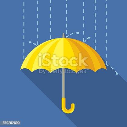 istock Yelow Umbrella 579252690