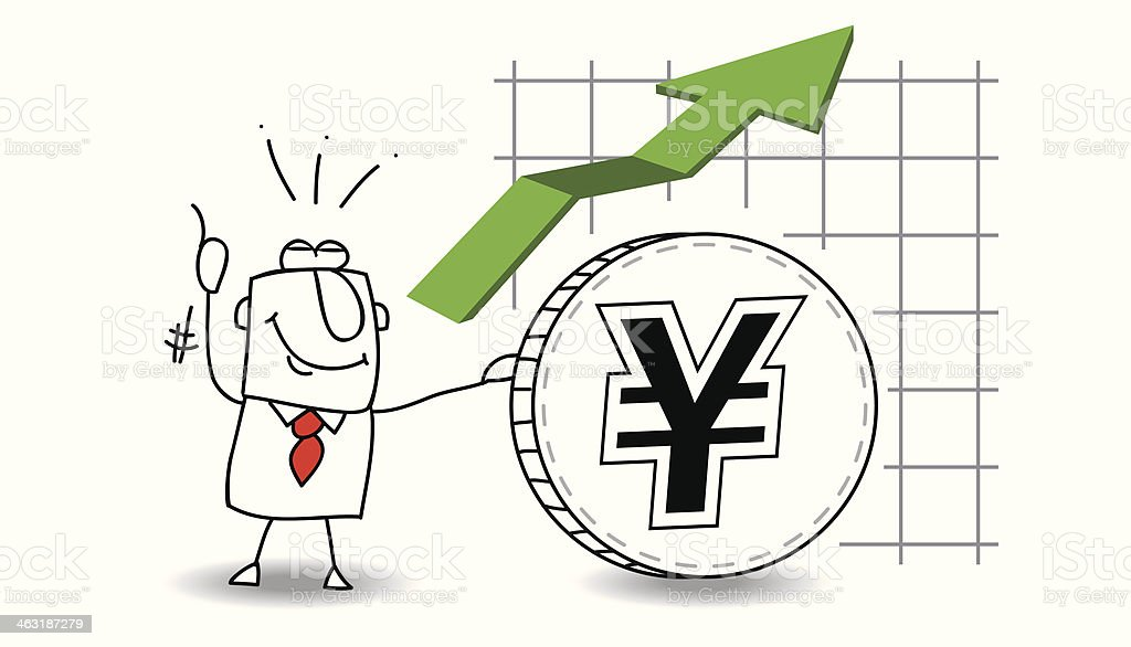 Yen is growing up royalty-free yen is growing up stock vector art & more images of adult