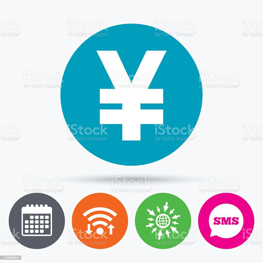 Yen Sign Icon Jpy Currency Symbol Stock Vector Art More Images Of