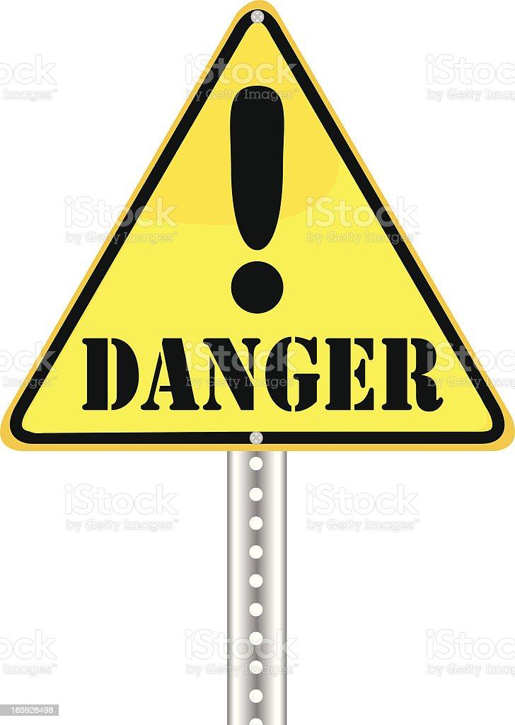 Yield Sign | Danger royalty-free stock vector art