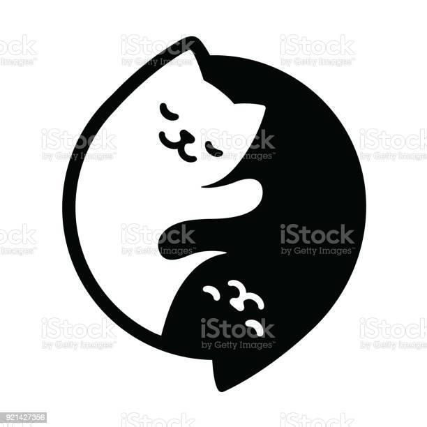 Yin yang cats vector id921427356?b=1&k=6&m=921427356&s=612x612&h=ox9td7oayzclzgtgn5uh6niprcedsweaffogdcaucae=