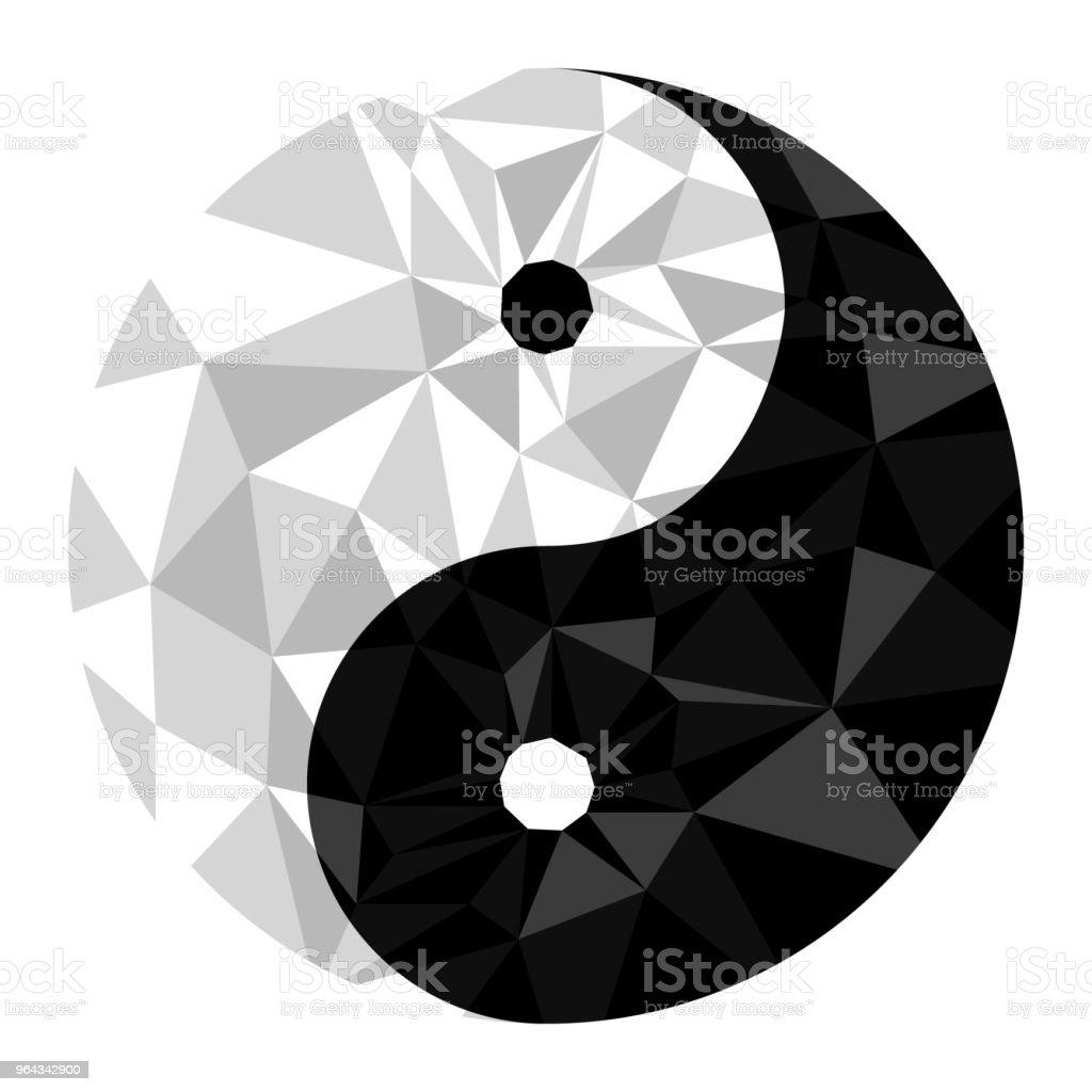 Yin Yang Symbol Of Harmony And Balance Stock Vector Art More