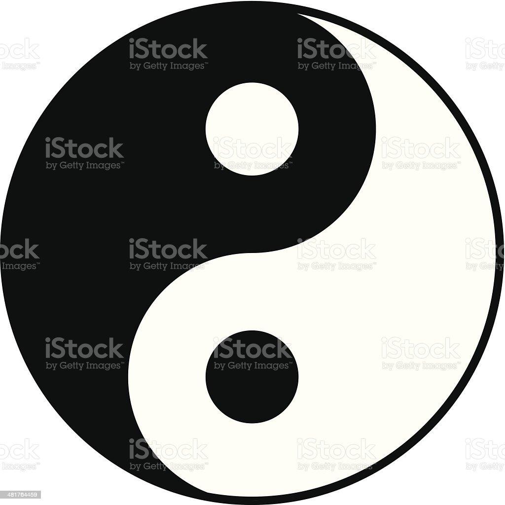 yin yang symbol royalty-free yin yang symbol stock vector art & more images of balance