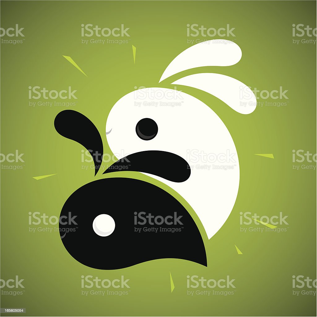 Yin-yang - Illustration vectorielle