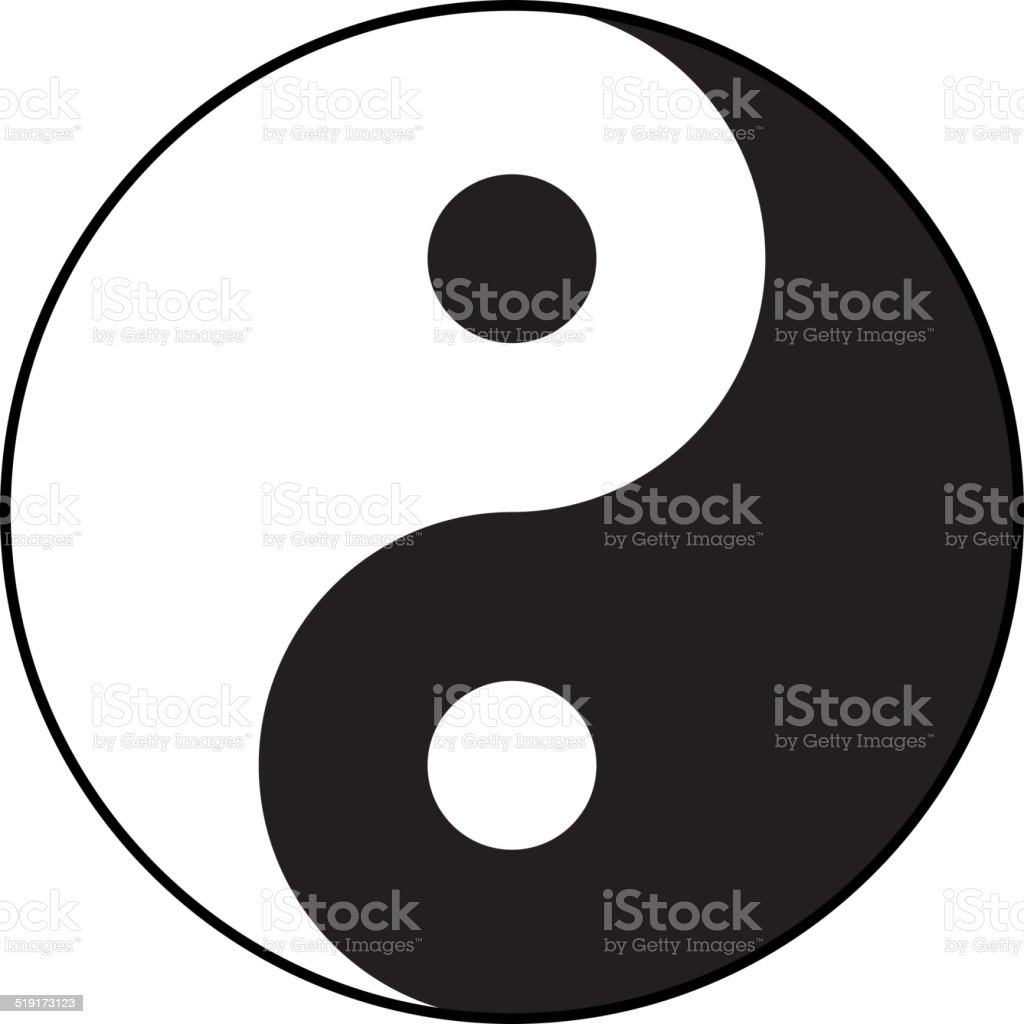 royalty free yin yang clip art vector images illustrations istock rh istockphoto com Yin Yang Painting Yin Yang Drawings