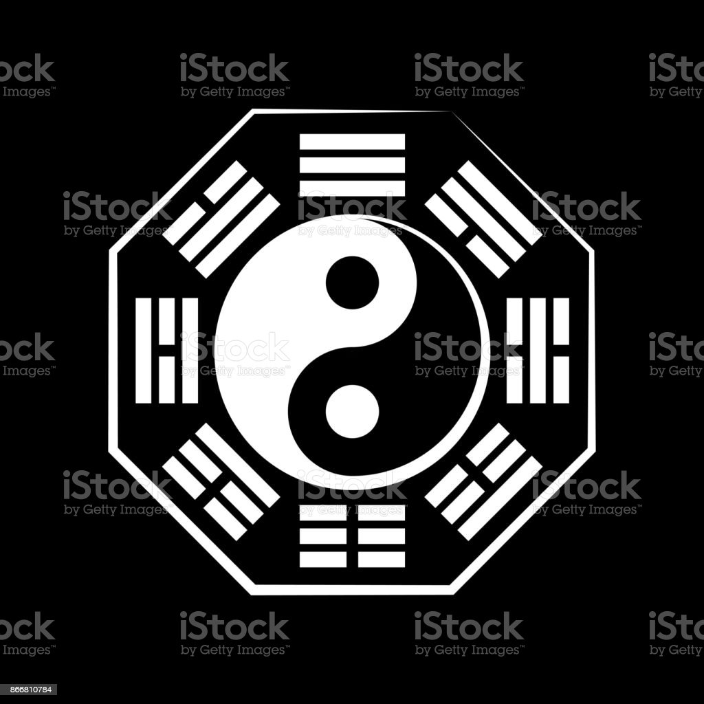 Yinyang And Bgu Chinese Cosmic Symbol Of The Duality And The Unity