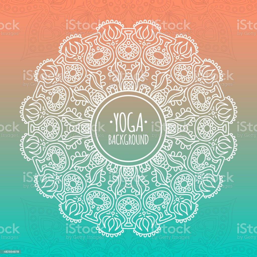 Yoga Background Stock Illustration Download Image Now Istock