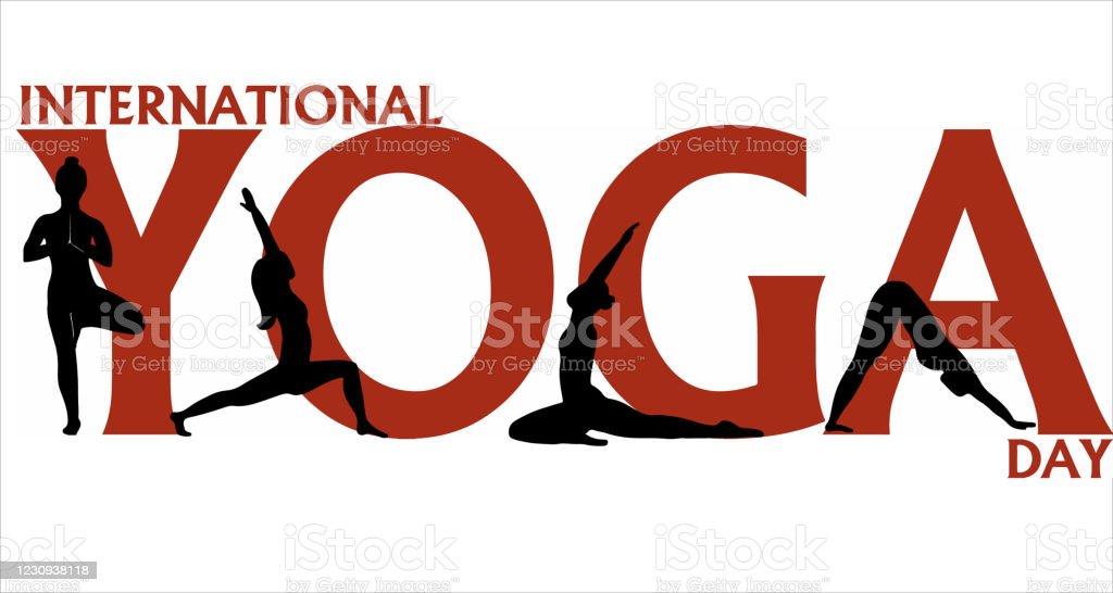 Yoga Banner International Yoga Day Stock Illustration Download Image Now Istock