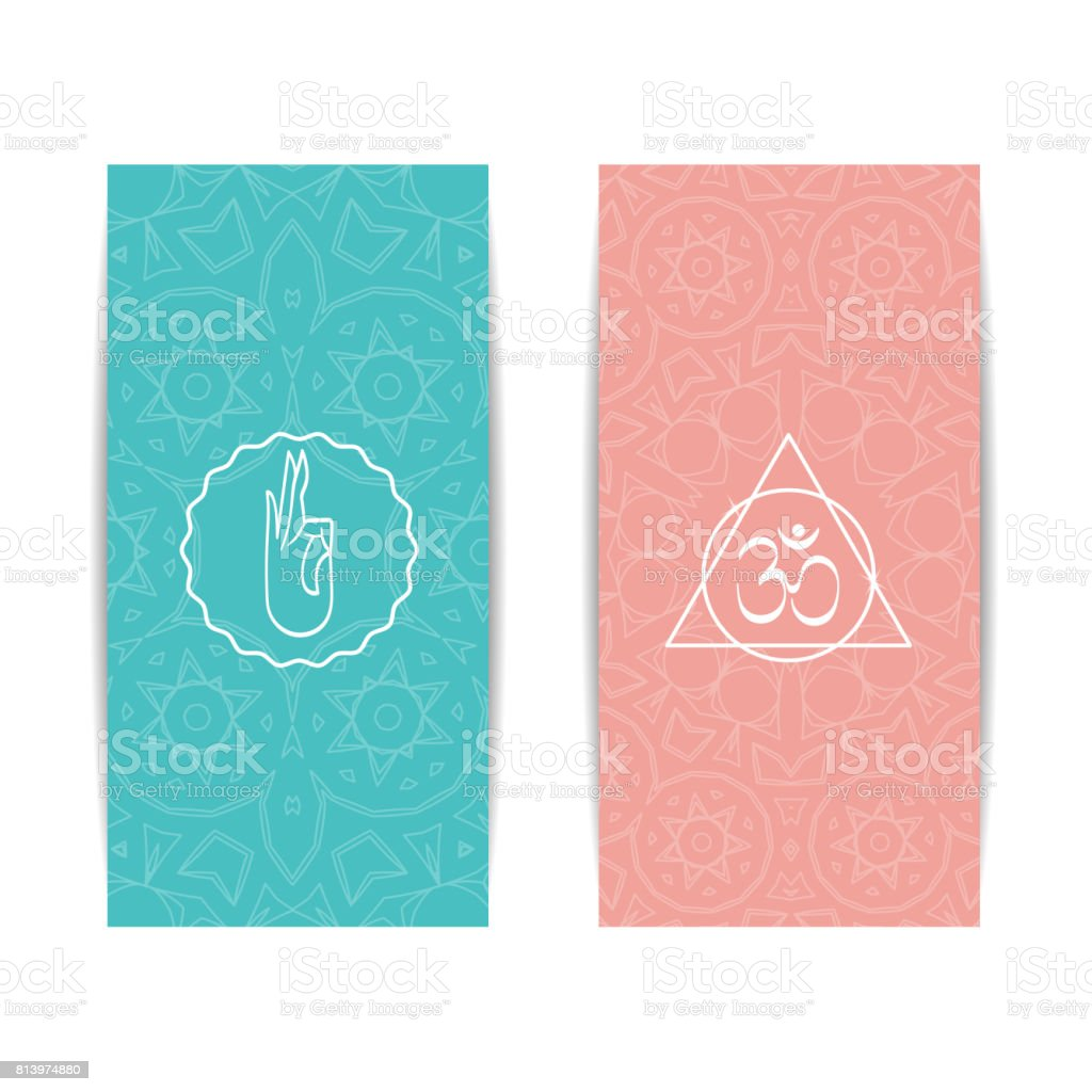 Yoga Class And Studio Template Banner Stock Vector Art More Images