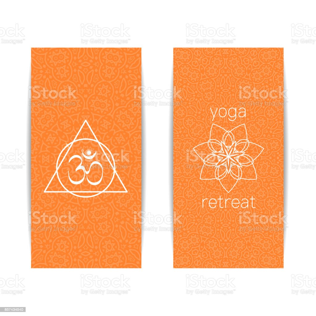 Yoga Class And Studio Template Banner Stock Illustration Download Image Now Istock