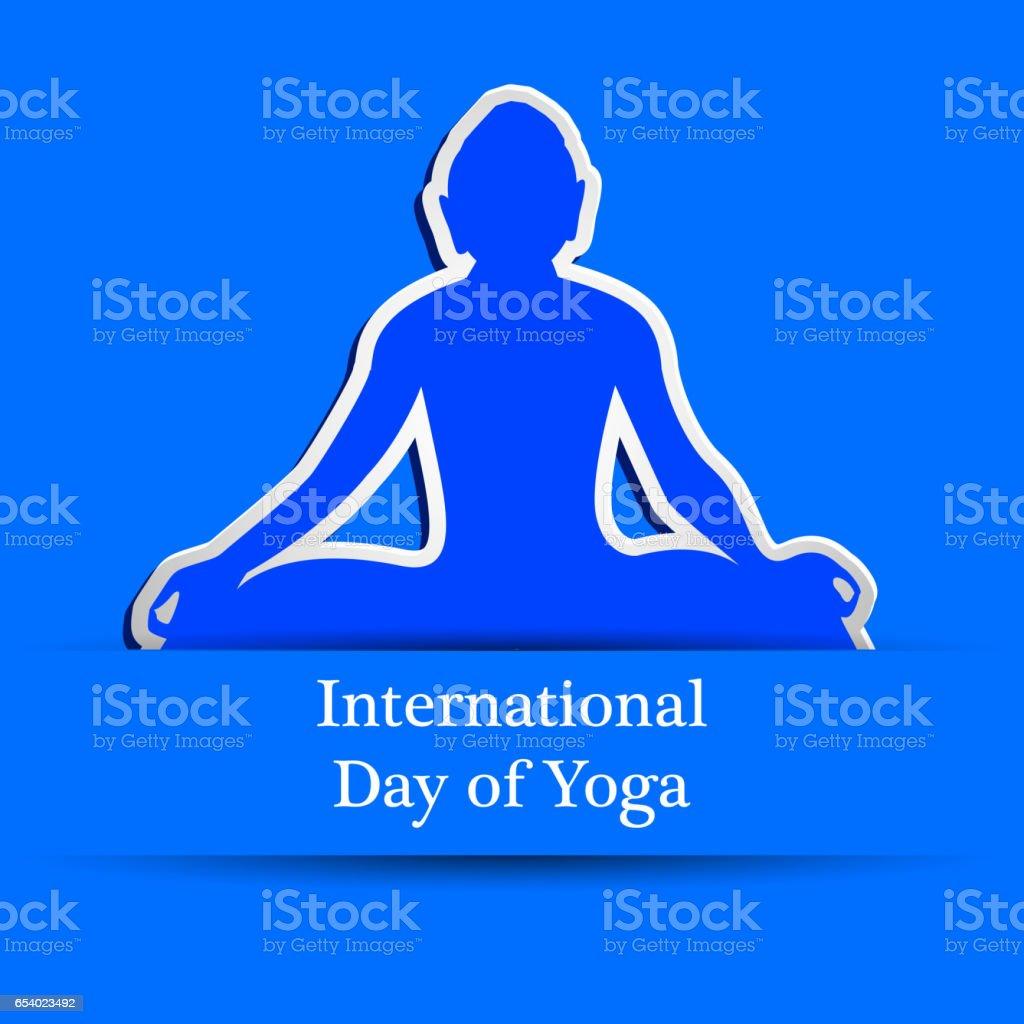 Yoga day background