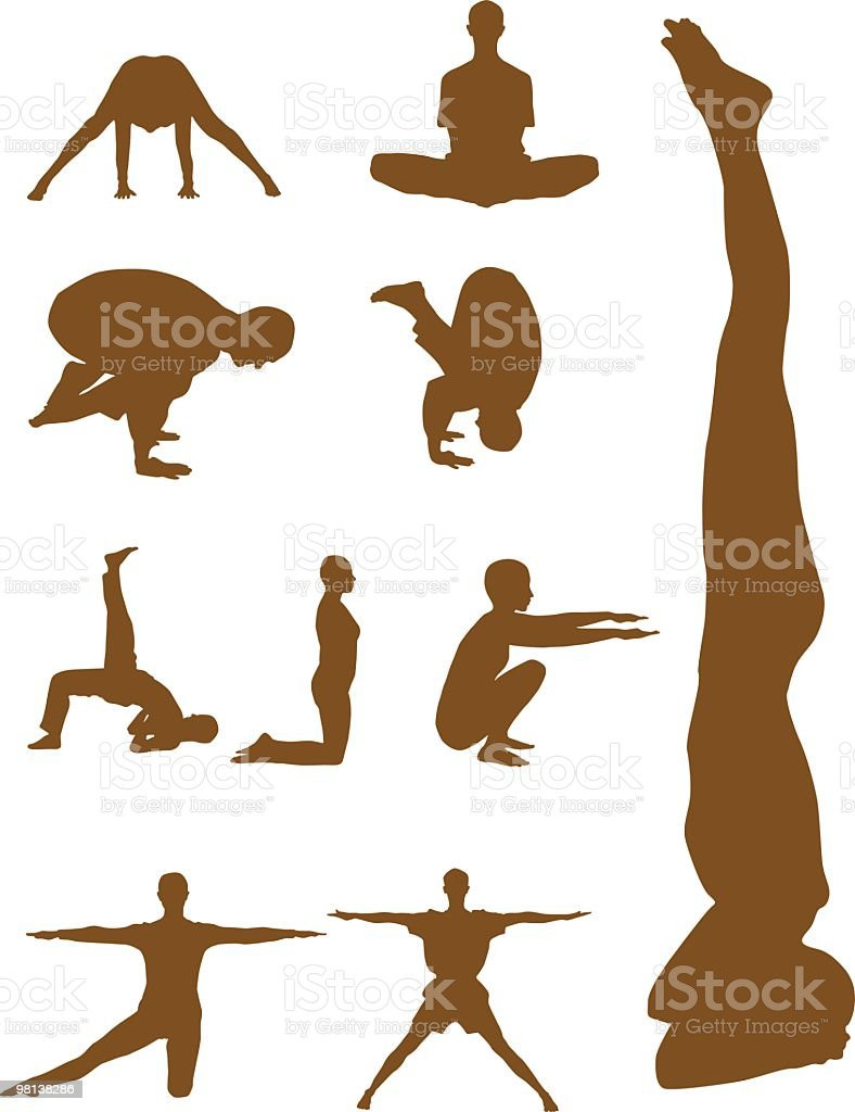 Yoga exercise royalty-free yoga exercise stock vector art & more images of 25-29 years