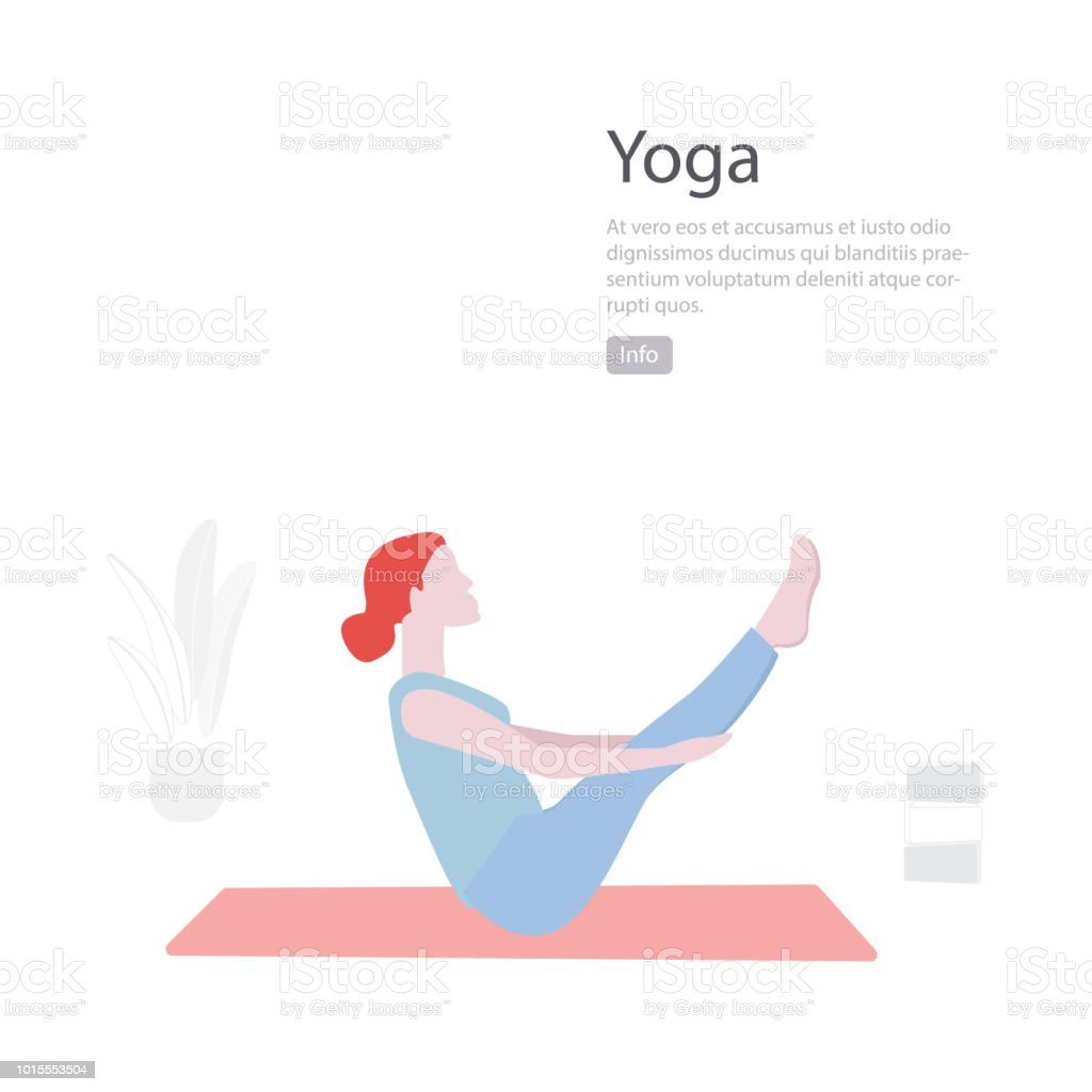 Yoga Duz Illustrasyon Vektor En Az Karakter Insanlar Dekorasyon Grup Spor Yasam Tarzi Oyunculuk Fitness Egitimi Egzersiz Stok Vektor Sanati Abd Nin Daha Fazla Gorseli Istock