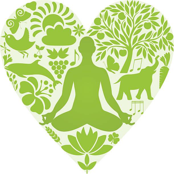 yoga-zentrum - karotte peace stock-grafiken, -clipart, -cartoons und -symbole