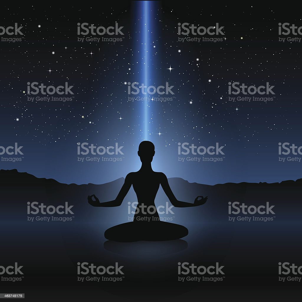Yoga human silhouette royalty-free yoga human silhouette stock vector art & more images of adult