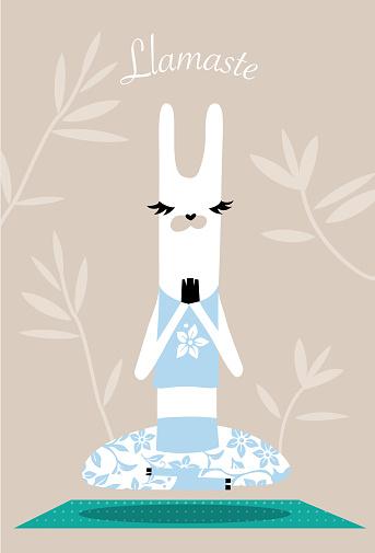 Yoga Llama Llamaste