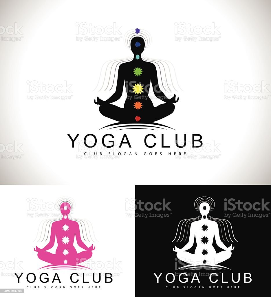 Yoga Logo Stock Illustration Download Image Now Istock