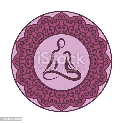 istock yoga mandala 1305648830